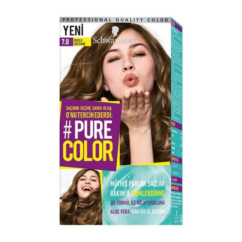 Pure Color 7 0 Buzlu Kestane Sac Boyasi A101