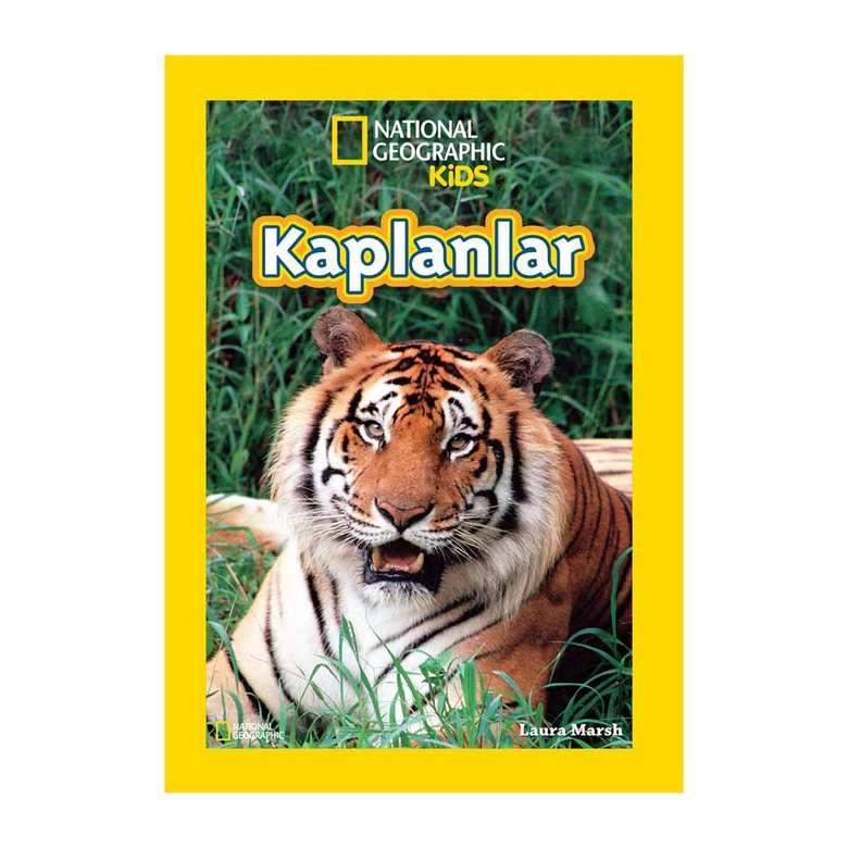 National Geographic  Okuma Kitapları - Kaplanlar