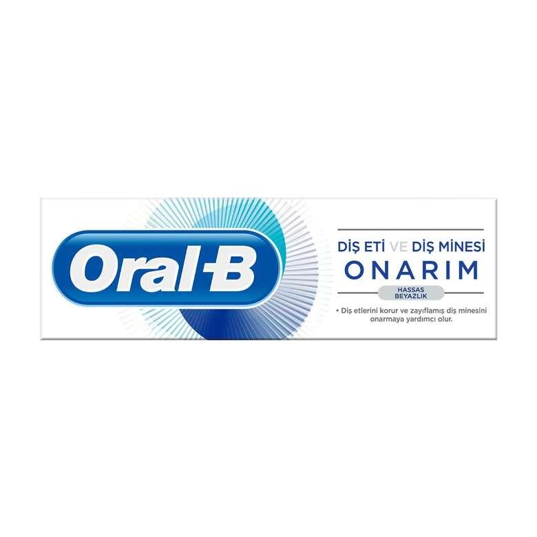 Oral-B Diş Macunu Onarım Hassas Beyazlık 75 Ml