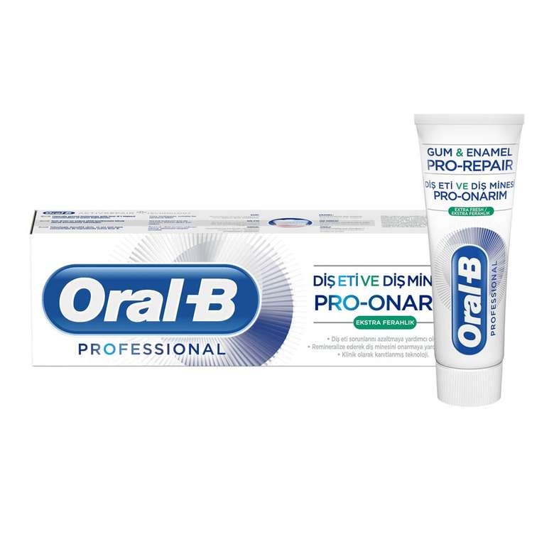 Oral-B Diş Macunu Pro Onarım Ferahlık 75 Ml