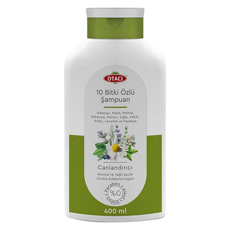 Otacı Şampuan 10 Bitki Özlü 400 Ml