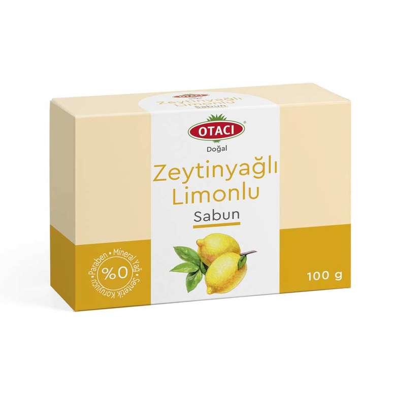 Otacı Katı Sabun Zeytinyağ-Limon 100 Gr