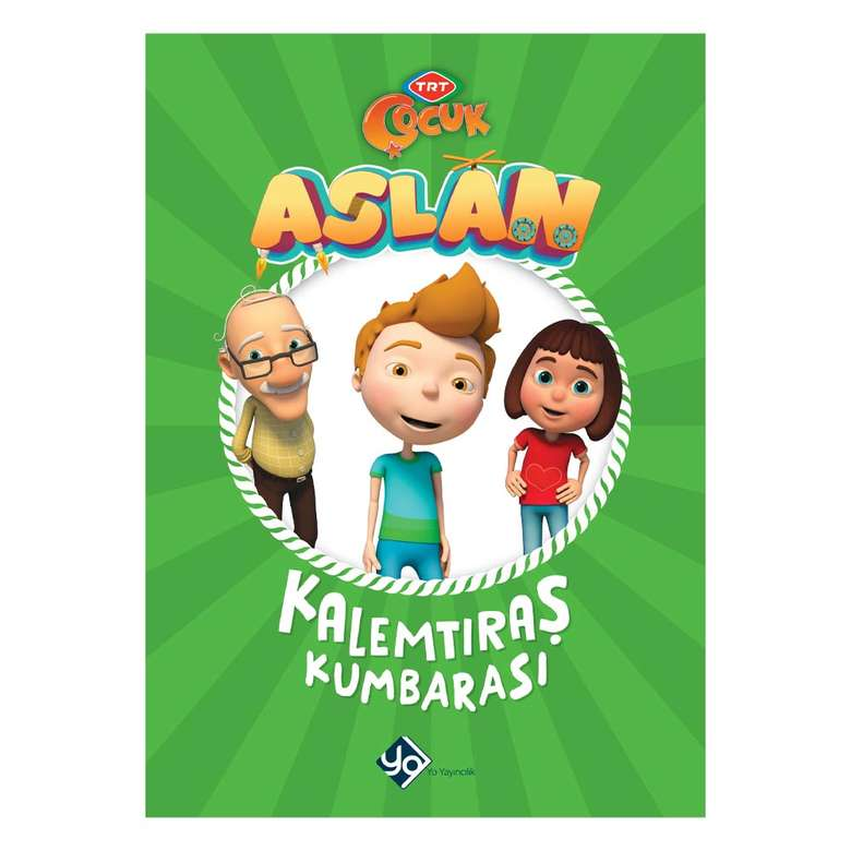 Trt Çocuk Aslan Hür Kitapları - Aslan-kalemtraş