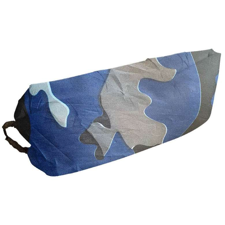Şişme Şezlong - Mavi Kamuflaj