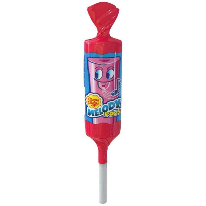 Chupa Chups Melody Pops Düdüklü Lolipop Çilek Aromalı 15 G