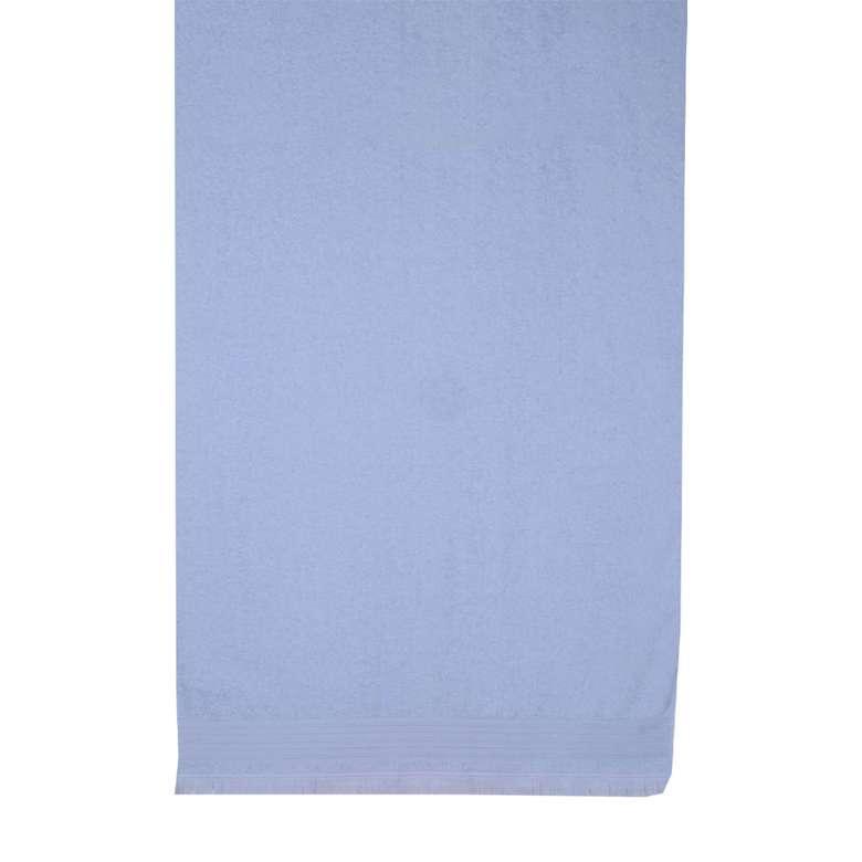 Banyo Havlusu Bordürlü (70x140 Cm) - Mavi
