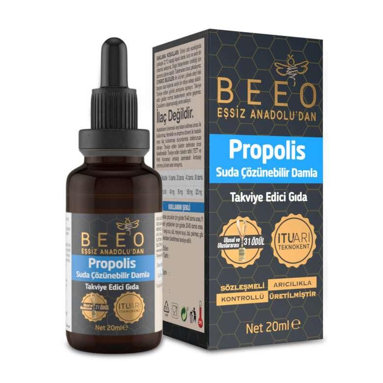 Bee'o Propolis Damla Suda Çözünebilen 20 Ml