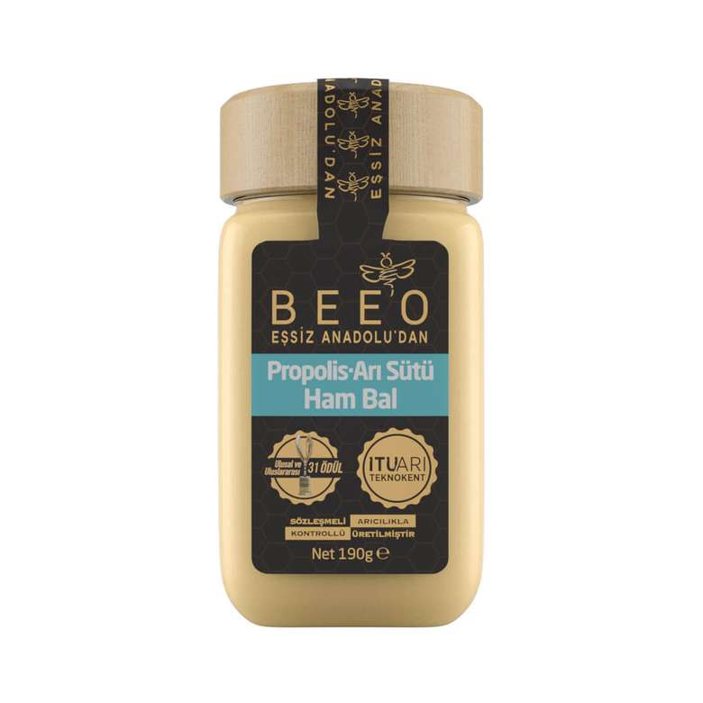 Bee'o Propolis Arısütü Hambal Karışımı 190 G