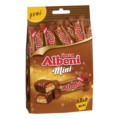 Ülker Albeni Bar Çikolata Mini Çoklu 89g