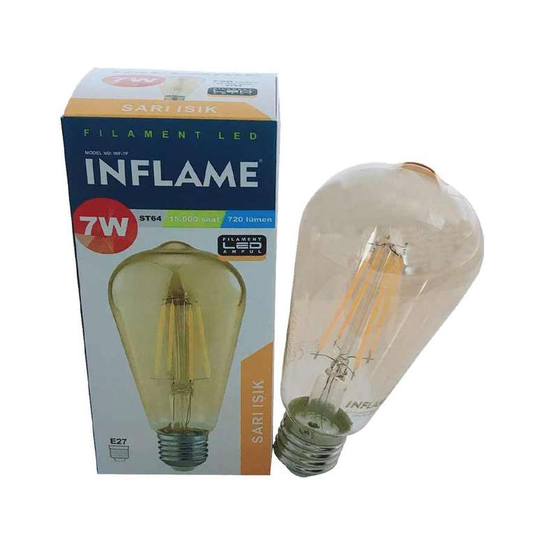 Inflame Filament Led Ampul 7 W