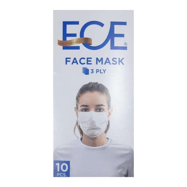 3 Katlı Kullan At Yüz Maskesi 10'lu