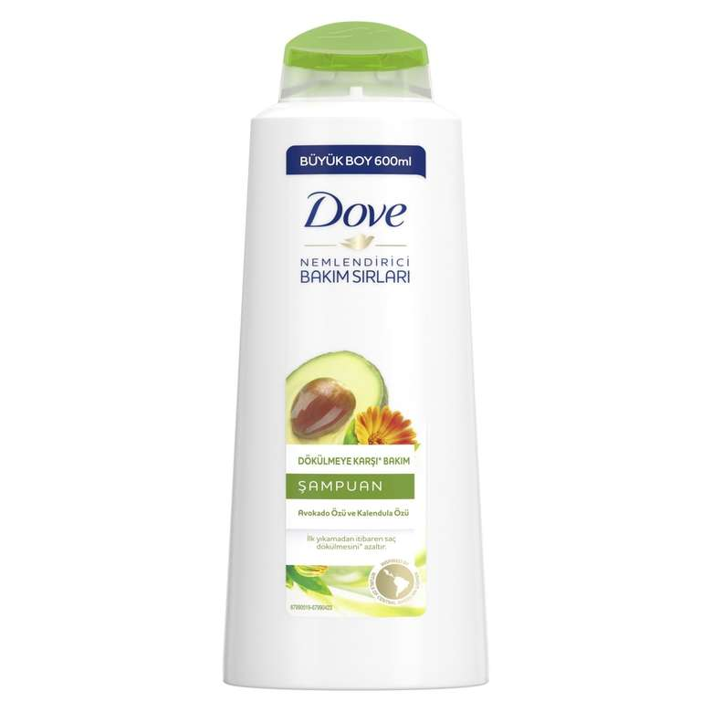 Dove Şampuan Avokado 600 Ml