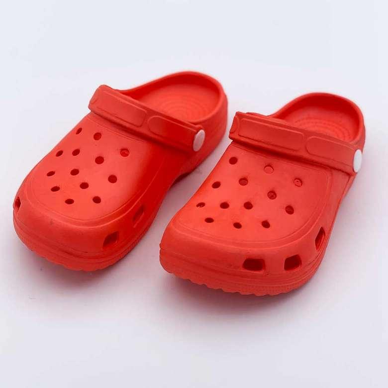 Çocuk Eva Kapalı Sandalet - Kırmızı 25