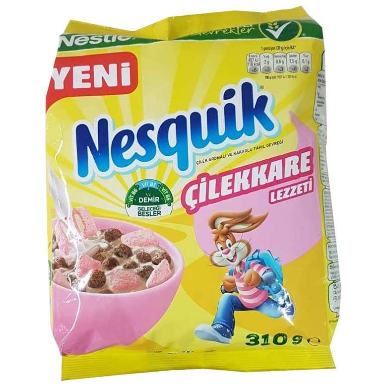 Nestle Nesquik Çilekkare Mısır Gevreği 310 G
