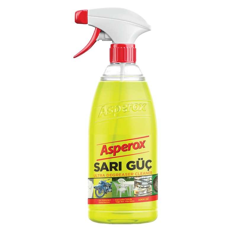 Asperox Sarı Güç Ultra Yağ Çözücü  1 L