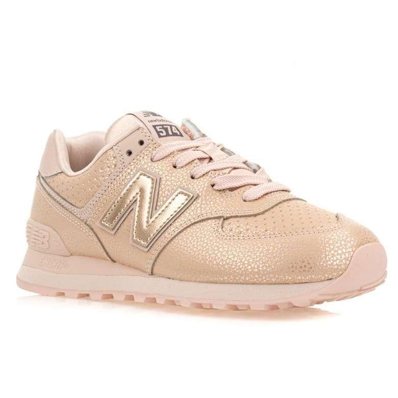 New Balance WL574SOJ Kadın Spor Ayakkabı - Bronz 37