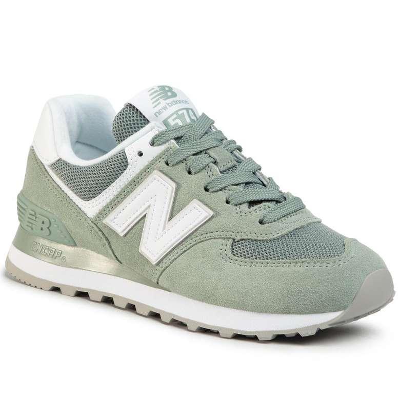 New Balance Wl574oa Yeşi Kadı, Yeşil, 40