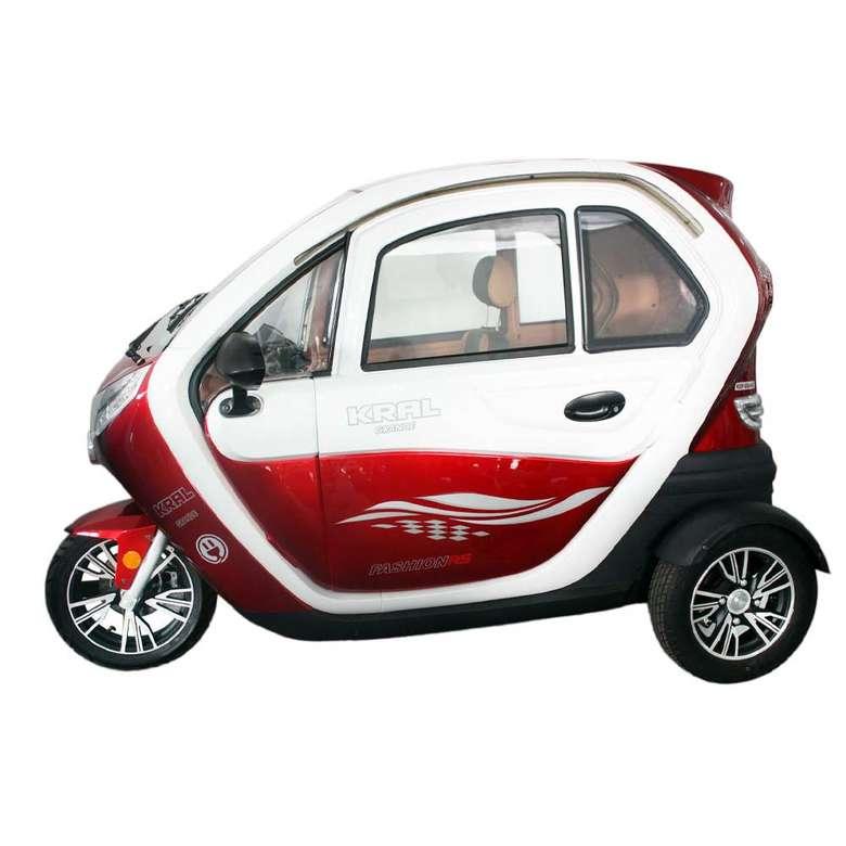Elektrikli Motosiklet Grande-6 Kırmızı