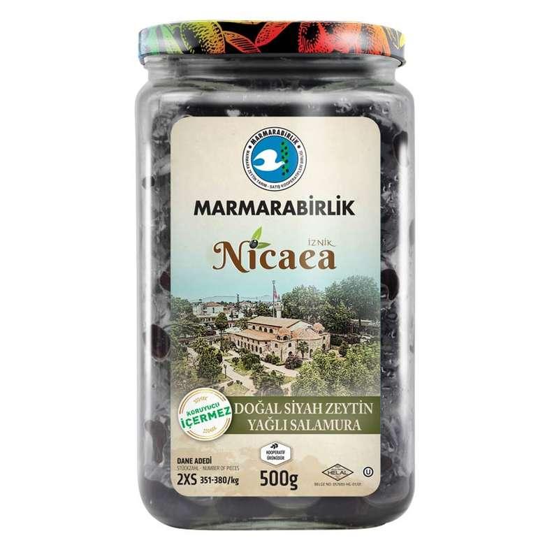 Marmarabirlik Nicaea Siyah Zeytin 2xs 500 G