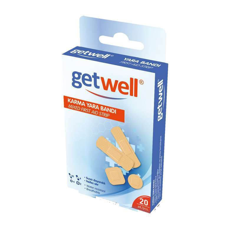 Getwell Su GeçirmezYara Bandı