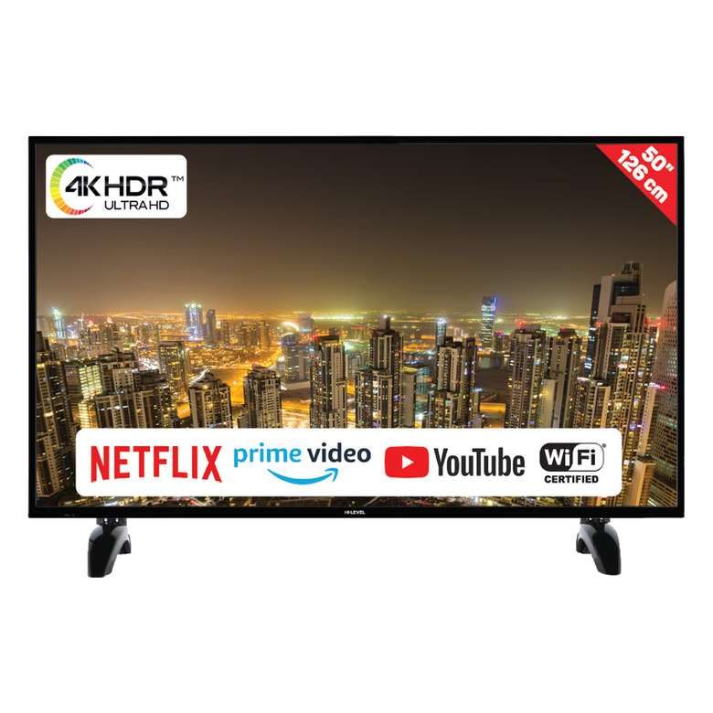 """Hi Level 50UHL650 50"""" ULTRA HD  Smart Led TV"""