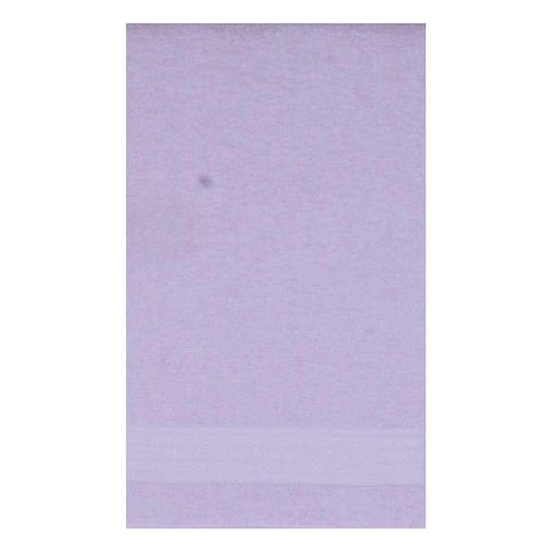 Banyo Havlusu Bordürlü (70x140 Cm) - Lila