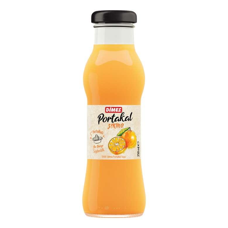 Dimes Meyve Suyu Sıkma Portakal 250 Ml