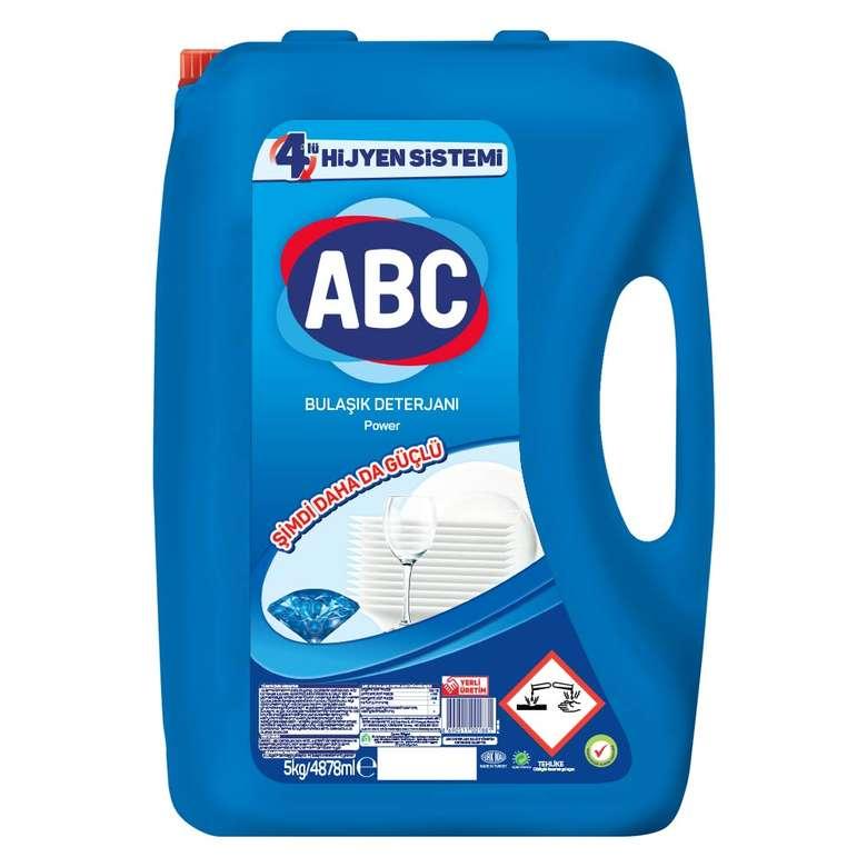 Abc Bulaşık Deterjanı Power 5000 Gr