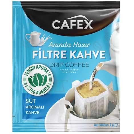 Cafex Süt Aromalı 8 G