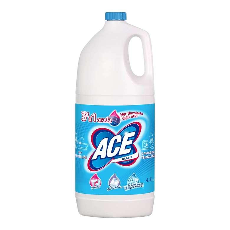 Ace Çamaşır Suyu 4 L