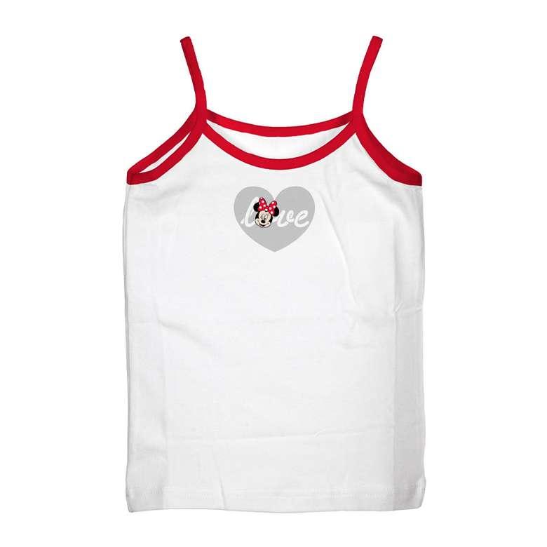 Lisanslı Kız Çocuk Atlet Beyaz, 5-6