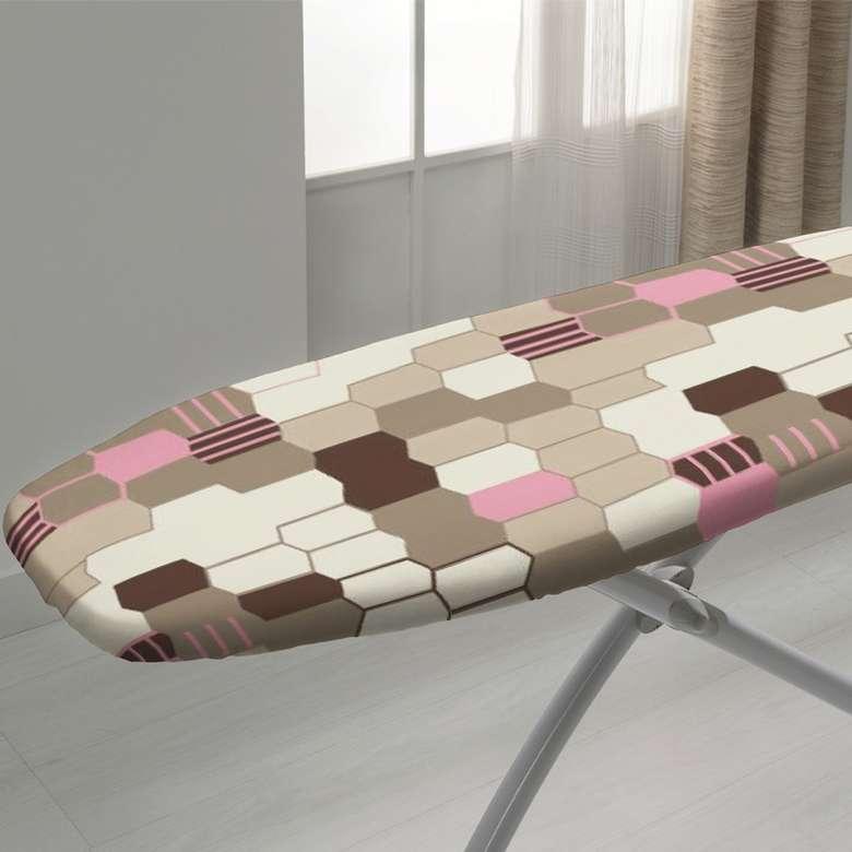Keçeli Ütü Masası Kılıfı (135x57 ) - Krem