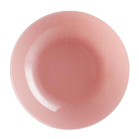 Arcopal Yemek Tabağı Renkli 20 Cm - Gül Kurusu