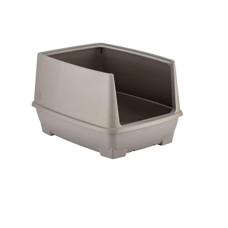 Relax Yarı Kapalı Kedi Tuvaleti- Kahve
