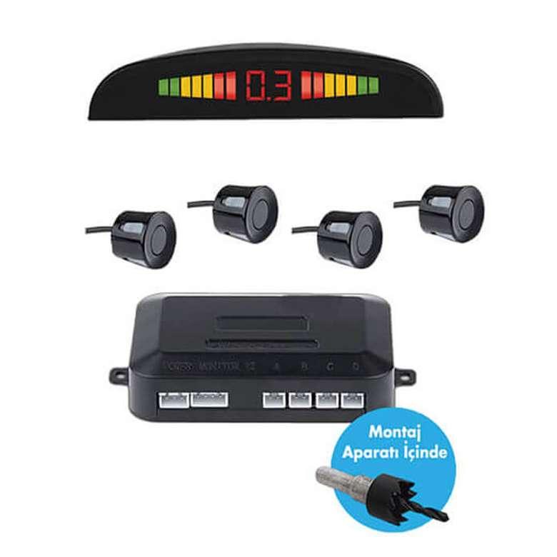 Piranha 6601 Led Ekranlı Park Sensörü