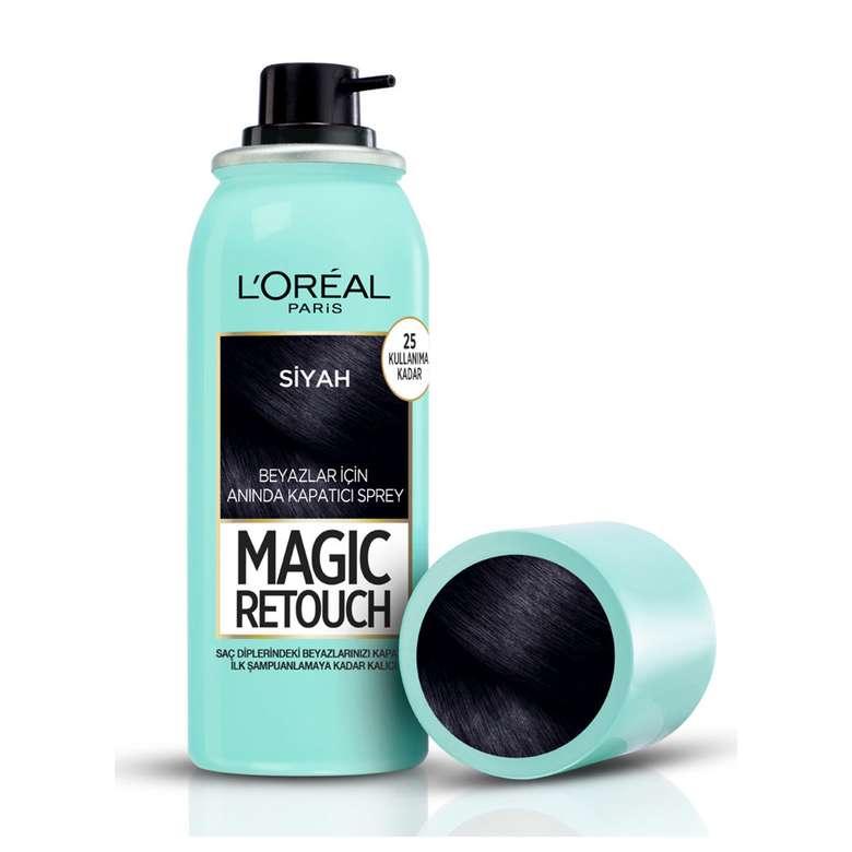 L'Oreal Paris Magic Retouch Beyaz Kapatıcı Sprey Boya - Siyah