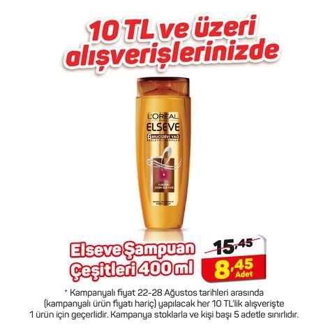 L'oreal Elseve Şampuan Mucizevi Yağ 400 Ml