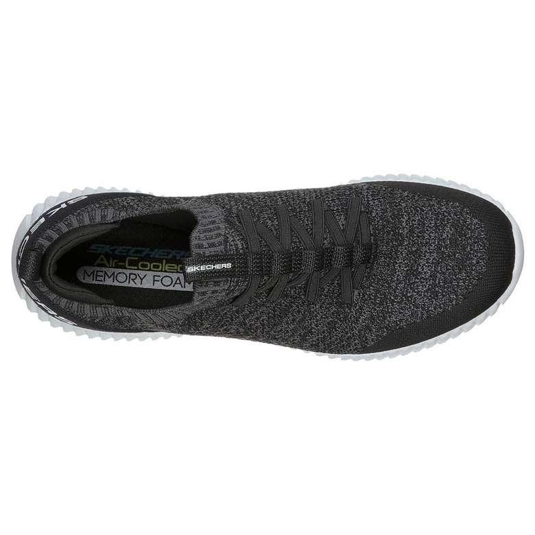 Skechers 232048-BKW Spor Ayakkabısı - Gri 43