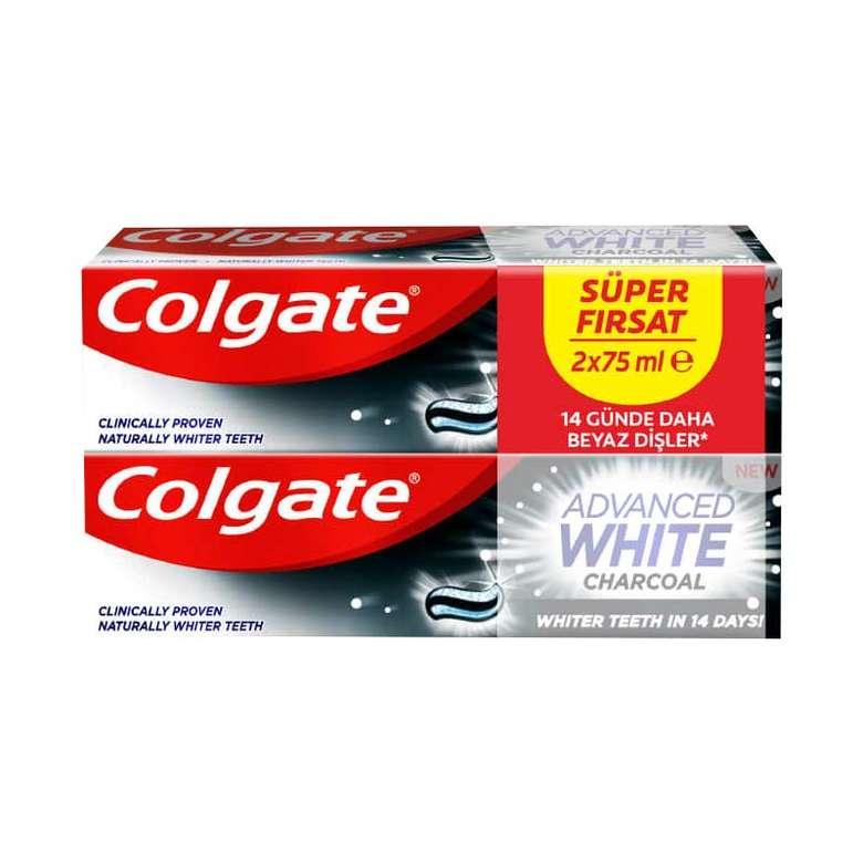 Colgate Advanced White Charcoal Diş Macunu 2x75 Ml