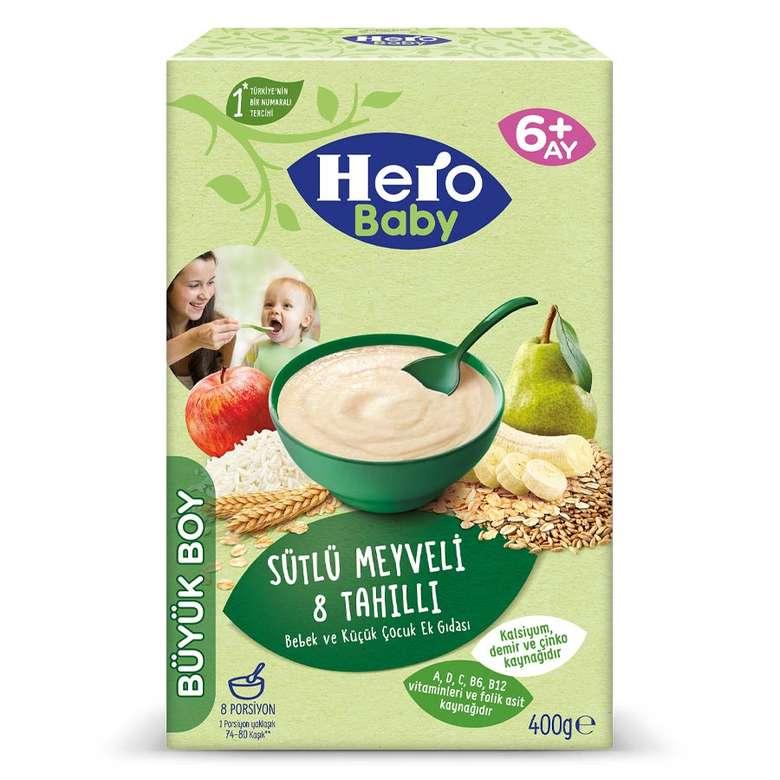 Hero Bebek Maması Ek Besin 8 Tahıllı 400G