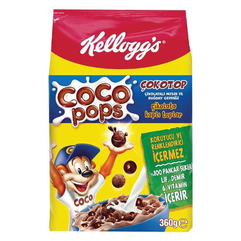 Kellogg's Coco Pops Çokotop Mısır Gevreği  360g