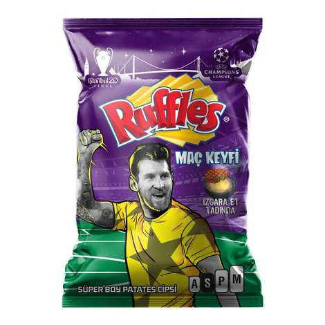 Ruffles Izgara Et Tadında Patates Cipsi 107 G
