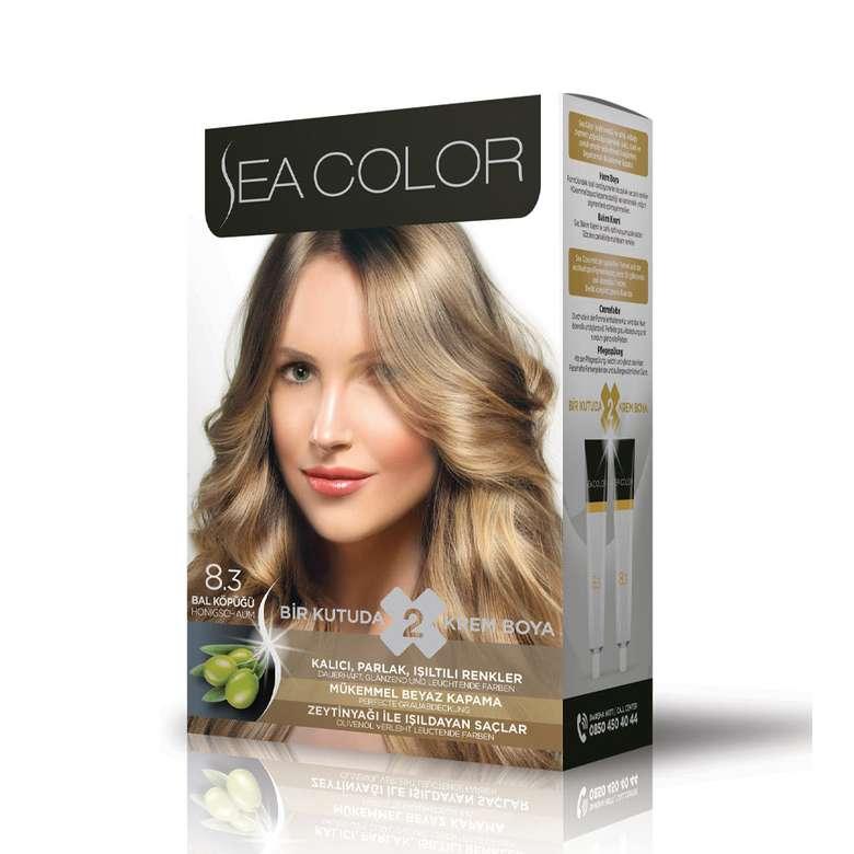 Sea Color Saç Boyası  Bal Köpüğü 8.3 100 ml