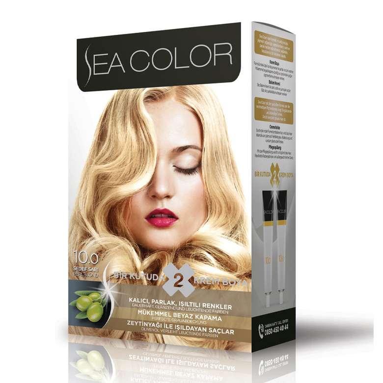 Sea Color Saç Boyası  Sedef Sarı 10.0 100 ml