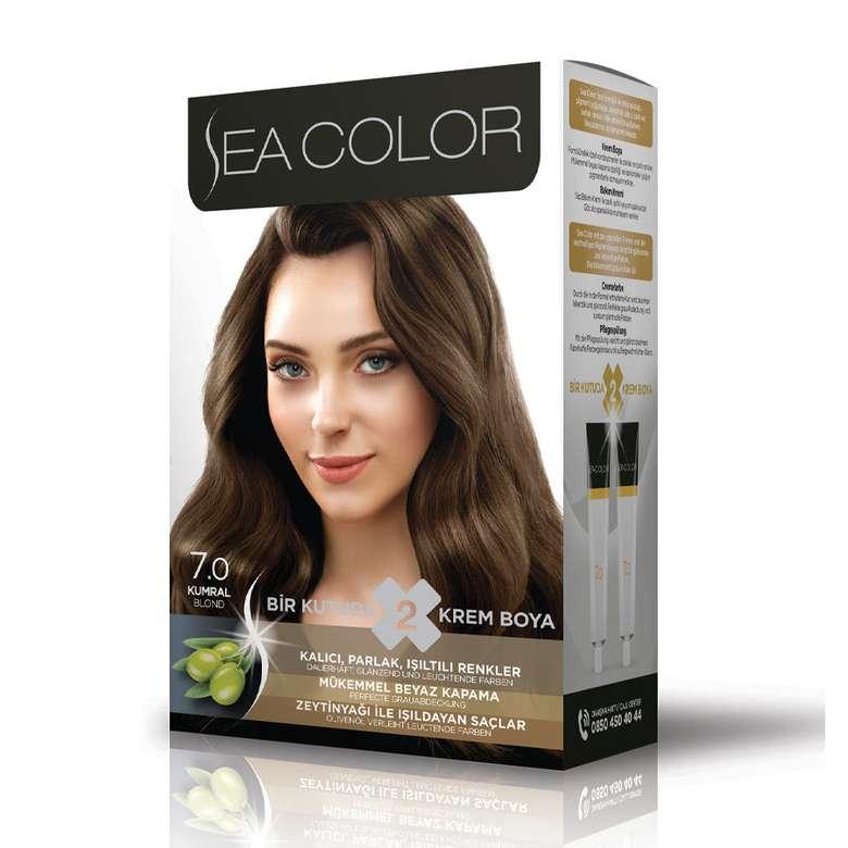 Sea Color Saç Boyası 100 Ml Kumral 7.0