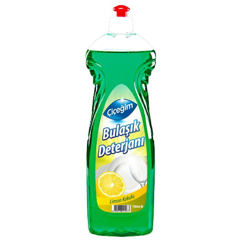 Çiçeğim Bulaşık Deterjanı Limon 750 Ml