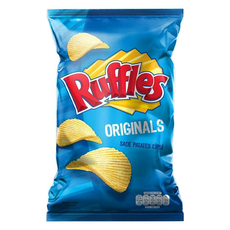 Ruffles Patates Cipsi Original 107 G