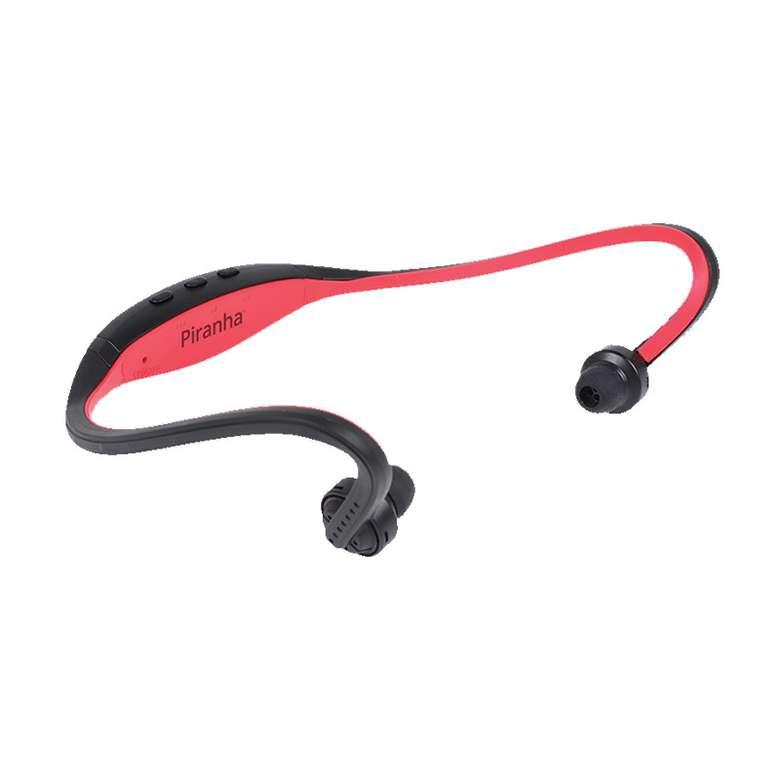 Piranha Bt Spor Kulaklık - Kırmızı