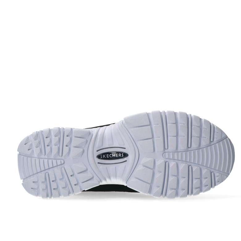 Skechers 13421-BKW Kadın Ayakkabı - Siyah-Beyaz 39