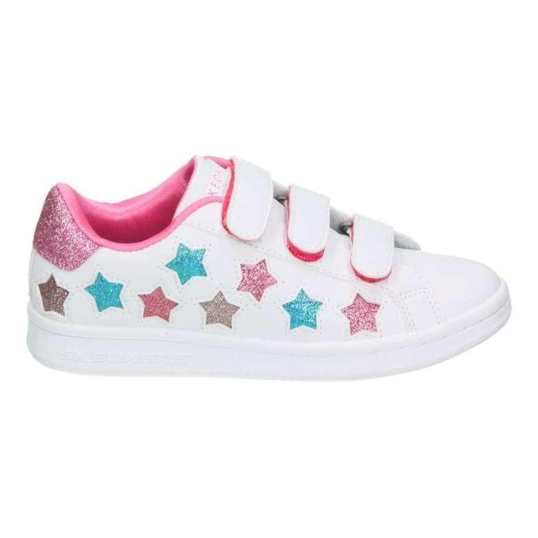 Skechers 84470l-WMLT Çocuk Ayakkabı - Beyaz-Pembe 35